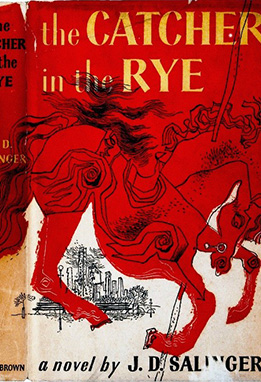 6. The Catcher in the Rye by J.D Salinger
