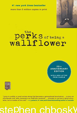 5. The Perks of being a Wallflower by Stephen Chbosky
